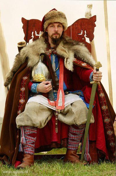Slavic Lord Norse Slavic And Cossack Clothing And Reference - Russian vikings
