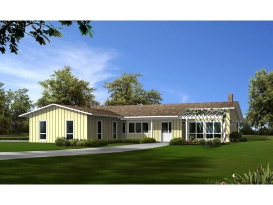 1950s L shaped ranch remodel - Google Search | Ranch style ... on stucco ranch home plans, retirement ranch home plans, concrete ranch home plans, building ranch home plans, crafts ranch home plans,