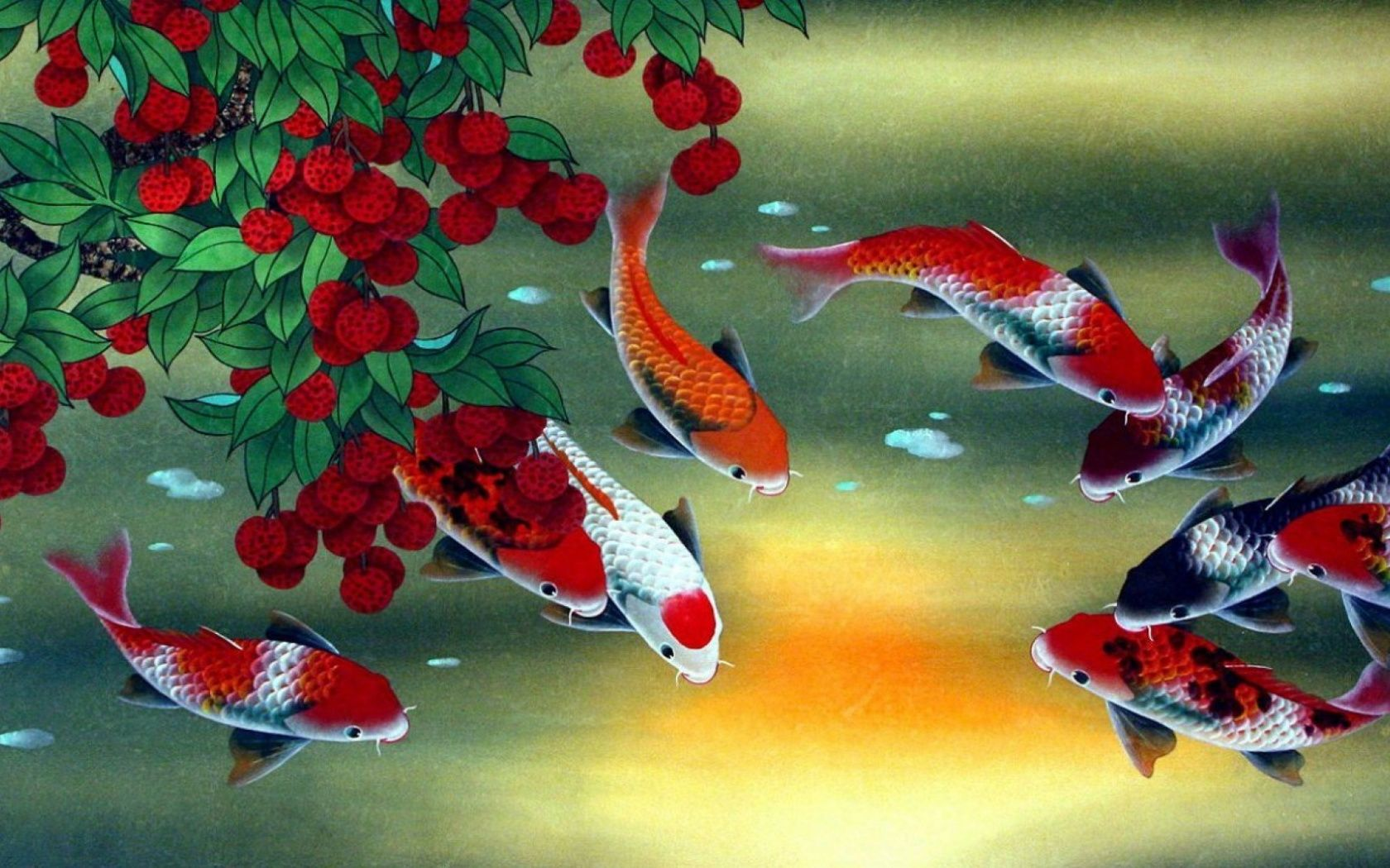 Lucky 9 feng shui koi | Next stop: the moon. in 2018 | Pinterest ...