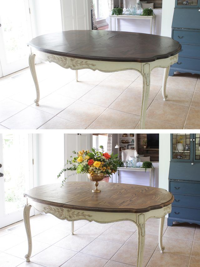 How To Properly Strip And Refinish A Dining Table Using A Non