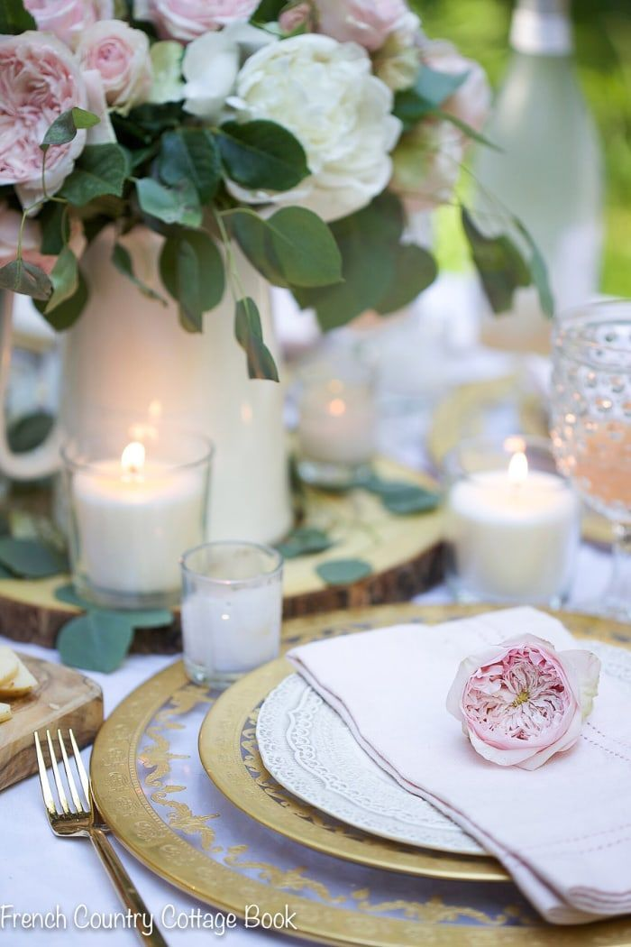 Photo of French Country Fridays-  5 tips for an elegant spring table –  French Country Fr…