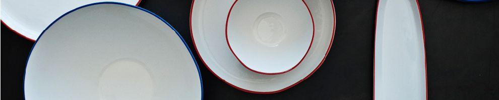 Abbesses Handmade Porcelain Dinnerware Collection Designer Dishes | Canvas Home & Abbesses Handmade Porcelain Dinnerware Collection: Designer Dishes ...