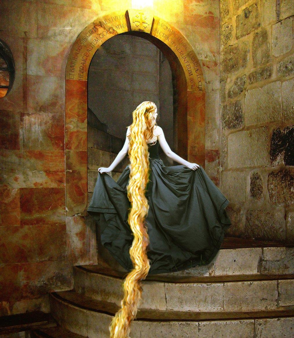 Grimm Fairy Tale Rapunzel Illustration