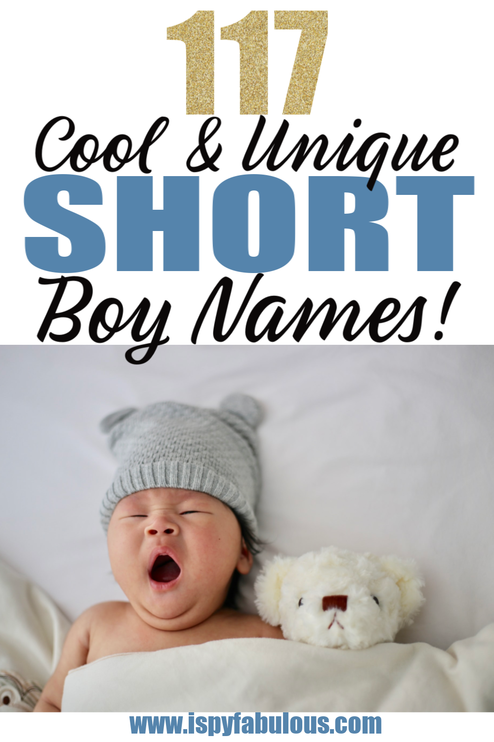 Cool Short Names for Boys!
