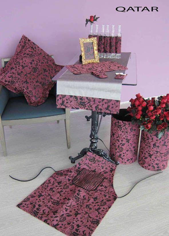 WWW.LINEAHOGAR.COM Qatar by Línea Hogar Deco: tejido flocado para decoración. Tacto suave. 100% impermeable y anti-mancha - Velvety cloth for decoration. Soft touch. 100% Waterproof and stain-resistant.