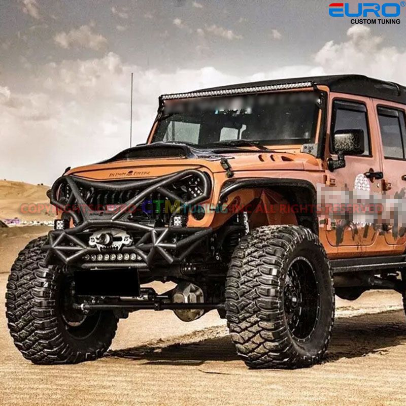 For0717 Sahara Rubicon Jk Wrangler Custom Fury Fire Eye Matte