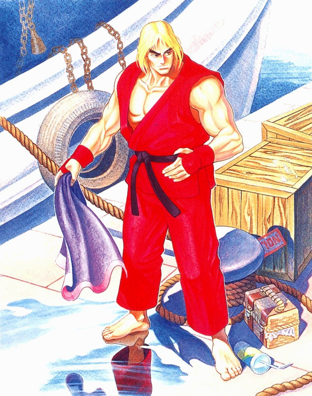 Street Fighter II Ken Street fighter characters, Street