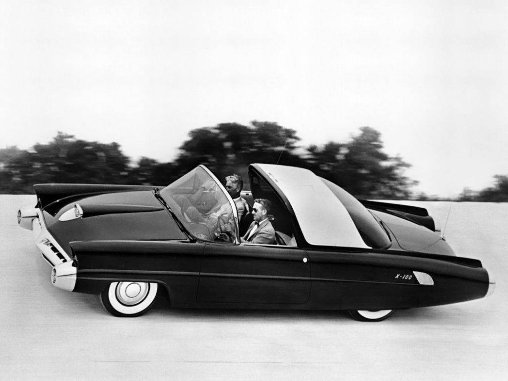 ford concept cars ford x 100 concept car 1953 concept automibles from the past and the. Black Bedroom Furniture Sets. Home Design Ideas