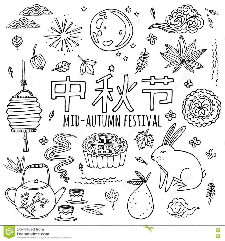 Pictures Mid Autumn Festival Drawing Drawings Art Gallery Within Mid Autumn Festival Craft Mid Autumn Festival Chinese New Year Traditions