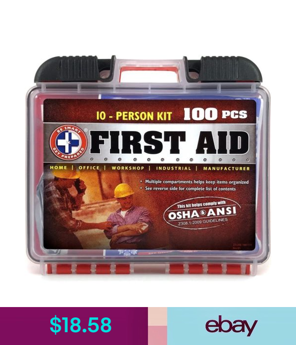 Be Smart Get Prepared First Aid Kits Health Beauty First Aid Kit First Aid Kit Box First Aid