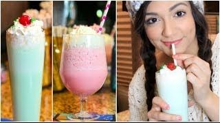 BethanysLife - YouTube - Diy Shamrock Shake and Cotton Candy Frap