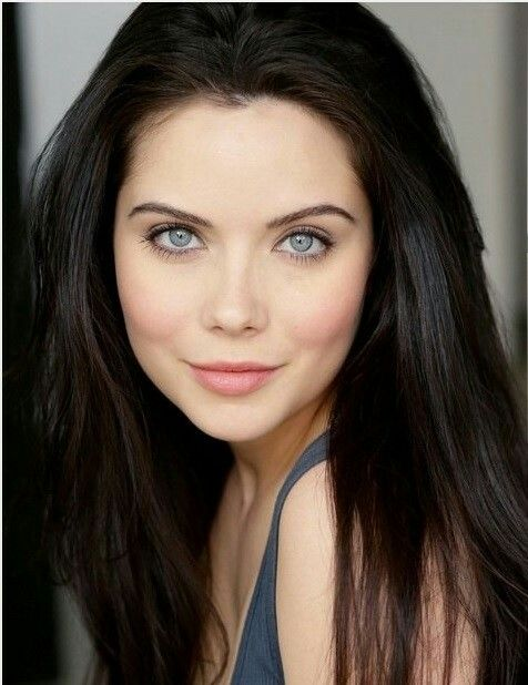 Grace Phipps Hair Pale Skin Dark Hair Blue Eyes Light Hair