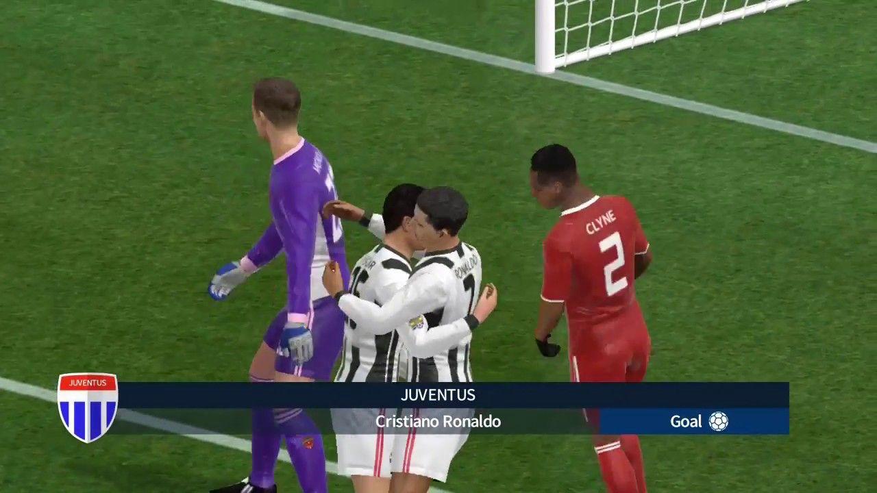 Liverpool 0 5 Juventus Match Dream League Soccer 2018 Gameplay 02 Cristiano Ronaldo Goals Ronaldo Goals Juventus