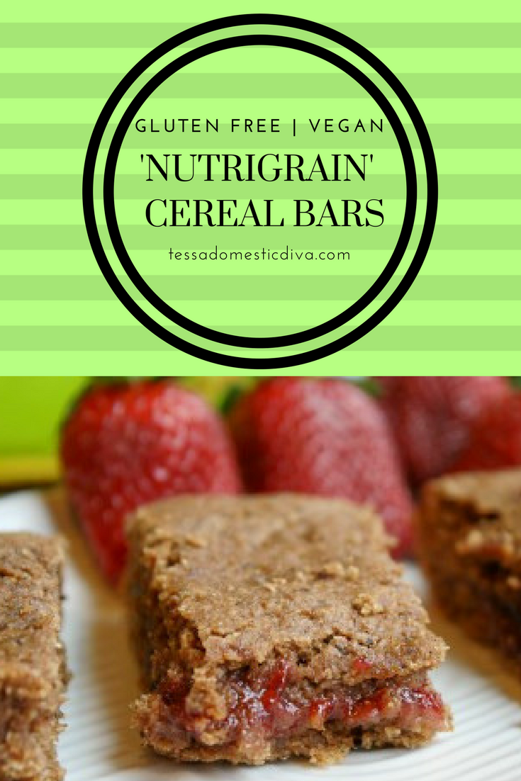 Healthy Homemade Fruit Cereal Bars - Gluten Free & Vegan ...