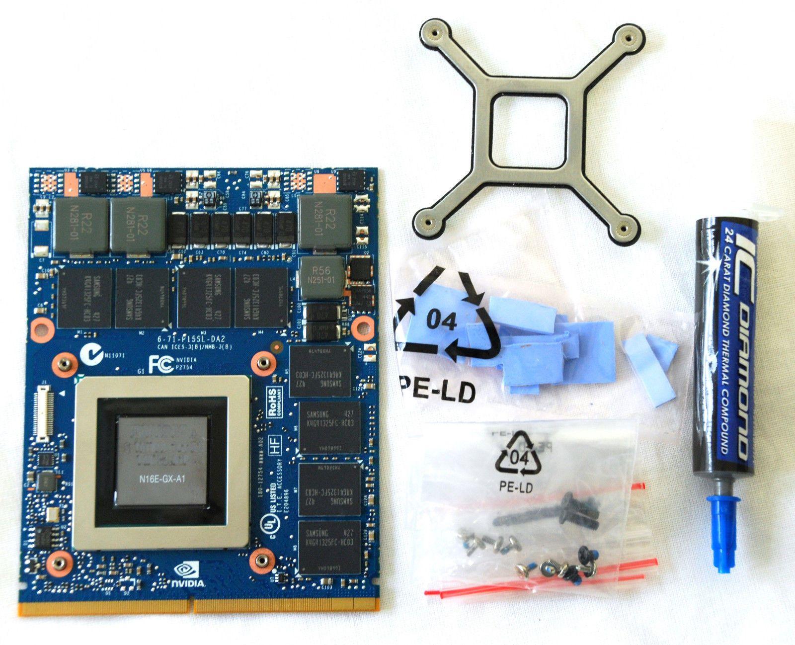 Dell Precision M6800 Laptop Video card upgrade kits MXM 3 0b