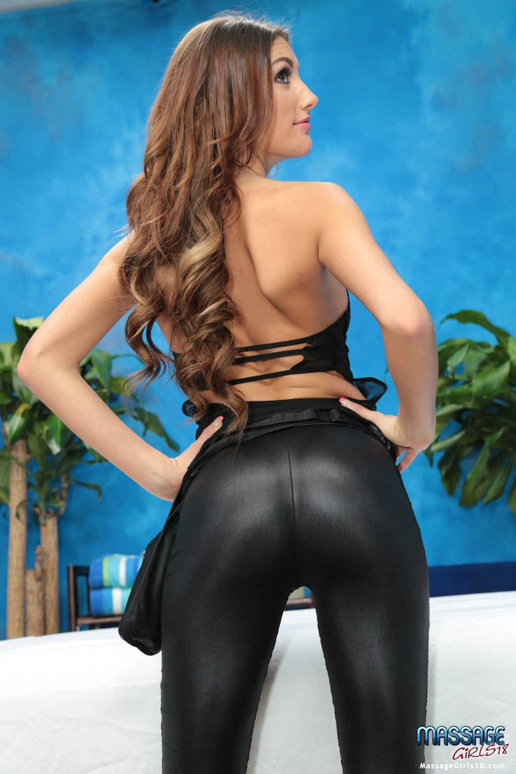 August ames thats bare assment video