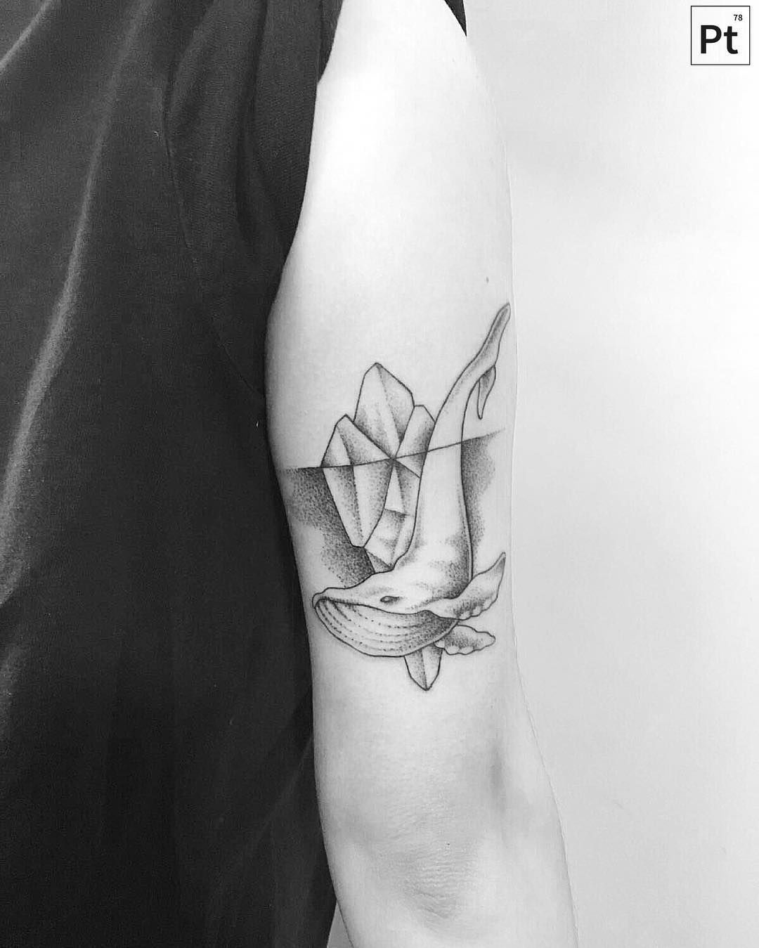 Illustrative And Geometric Black And Gray Tattoos By Pablo Torre Black And Grey Tattoos Grey Tattoo Tattoos