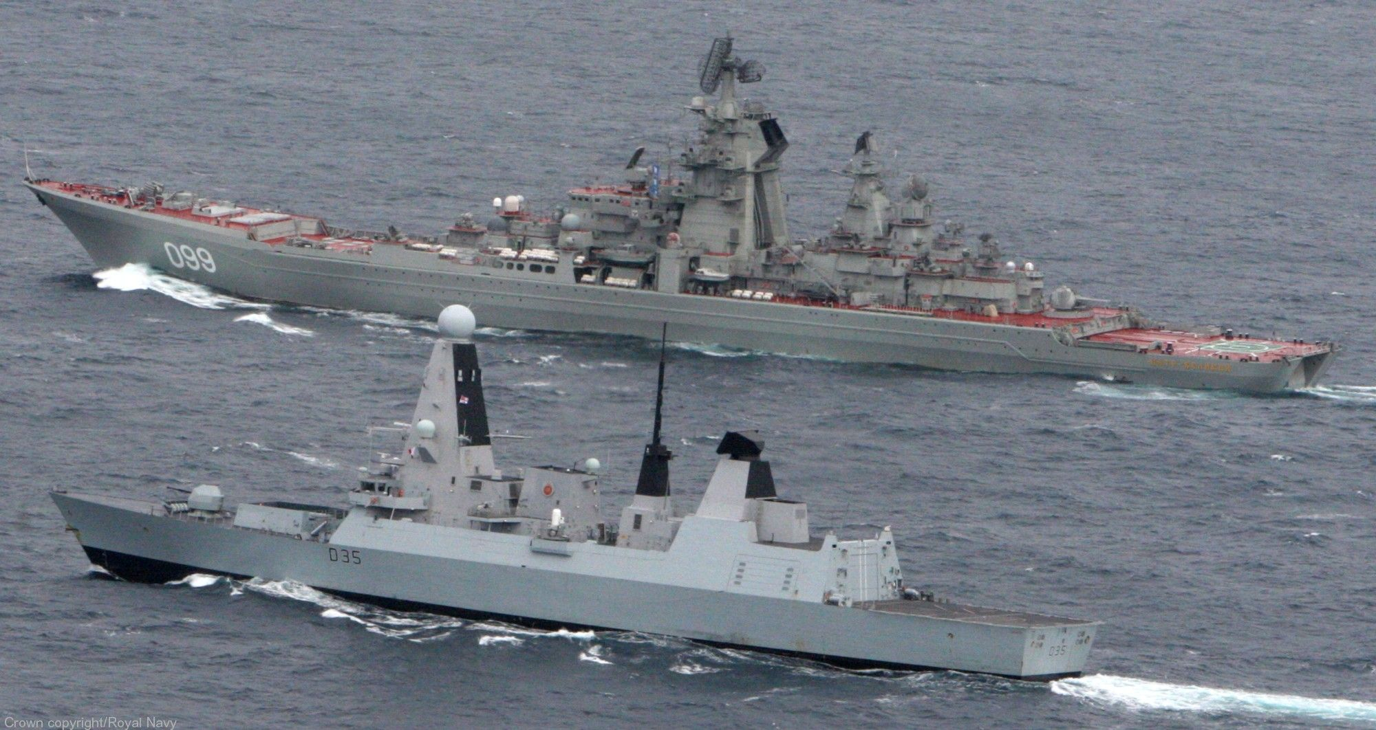 with russian navy kirov class battlecruiser rfs pyotr velikiy 099