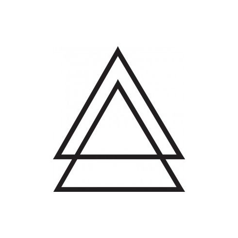 Triangle Tattoo Meaning Cool Eyecatching Tatoos 7aprtxe1 Symbols
