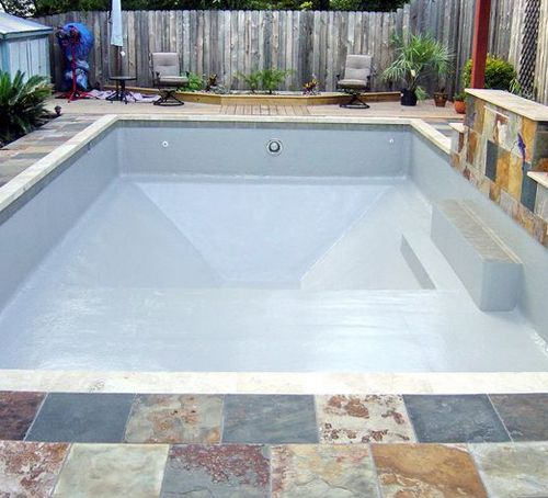 Diy cinder block swimming pool poured concrete swimming - Cinder block swimming pool construction ...
