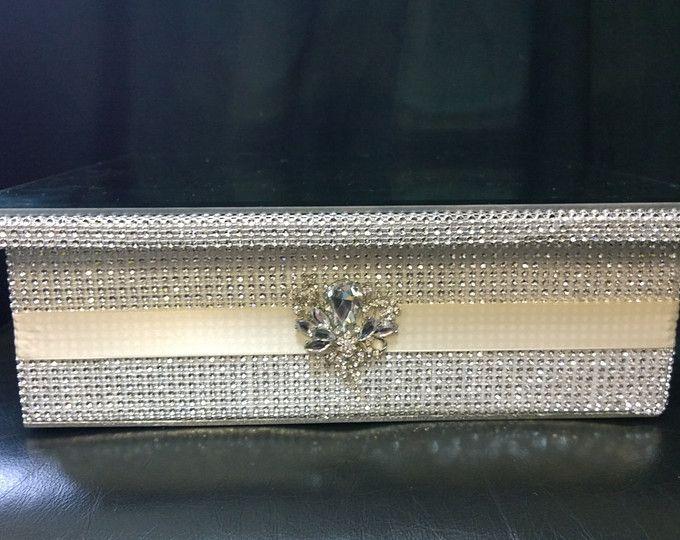 Cristal efecto faja l tarta stand de diseño - todos los tamaños redondos y cuadrados