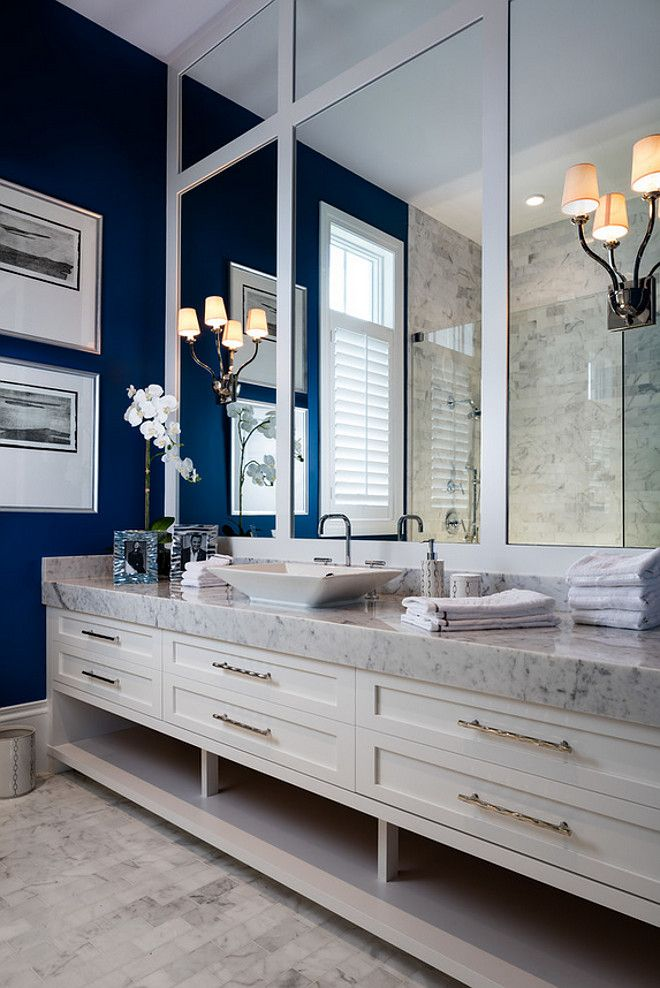 bathroom thick marble countertop large bathroom vanity with thick marbleu2026 - Large Bathroom Mirror