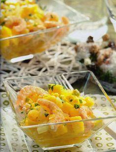 Salpicòn de marisco con vinagreta de cítricos