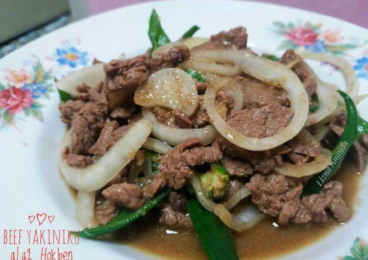 Resep Beef Yakiniku Ala2 Hokben Oleh Lizna Ananda Resep Resep Masakan Jepang Resep Makanan Sehat Resep