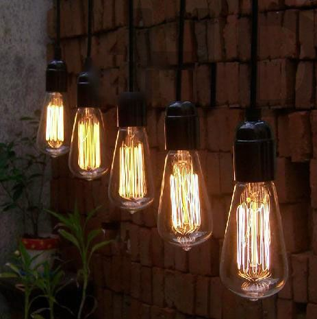 24 socket outdoor commercial string light set edison st58 hairpin more edison vintage light bulbs for a perfect wedding lights outdoor mozeypictures Choice Image