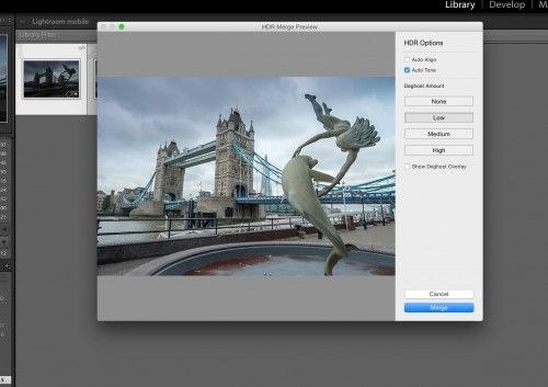 How to Use the New Panoramic and HDR tools in Lightroom CC