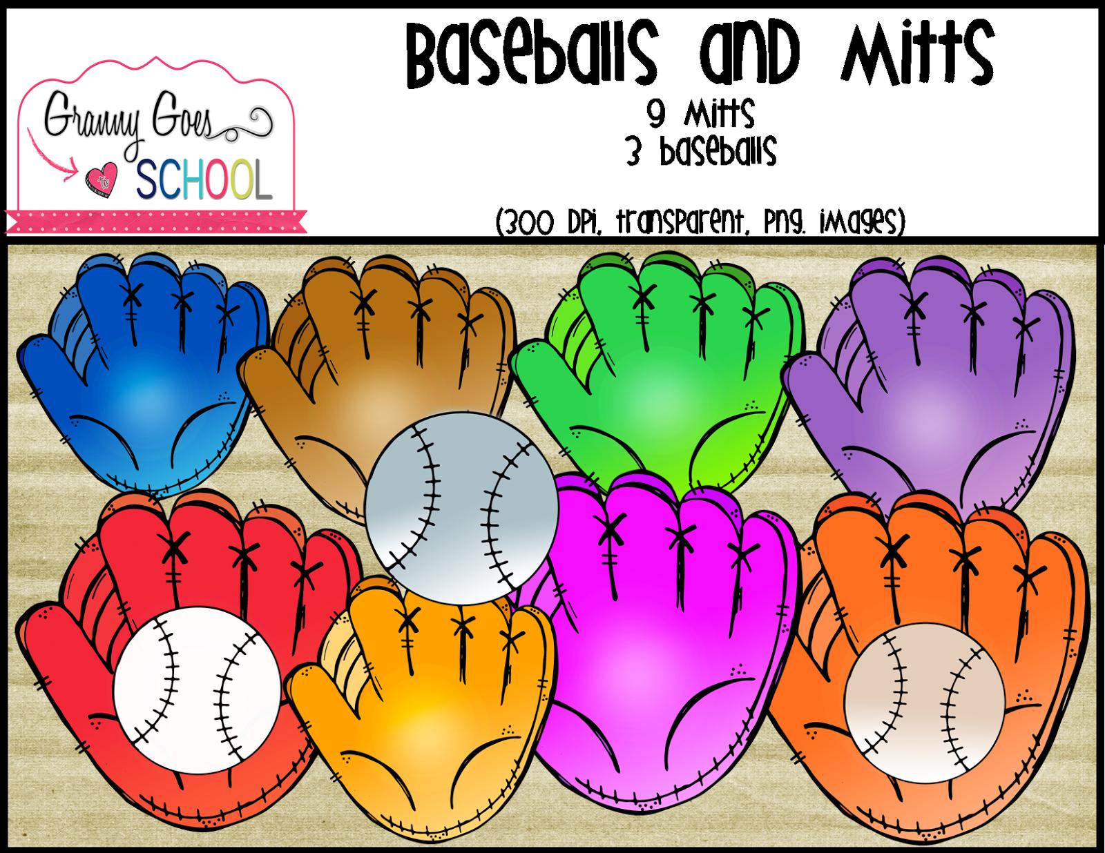 Baseballs And Mitts