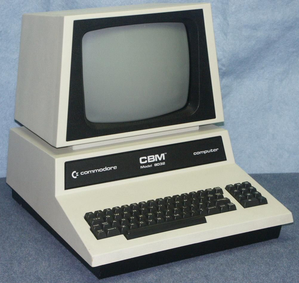 Commodore PET 8032 system   commodore computers in 2019