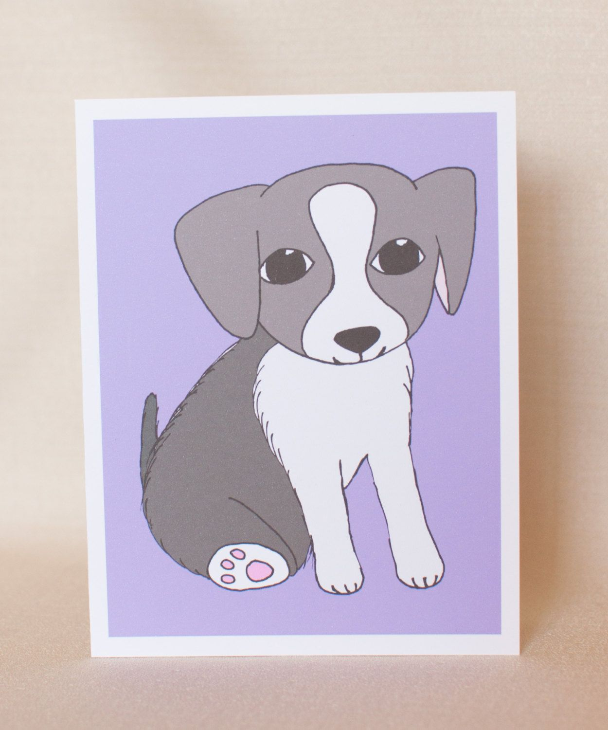 White and grey puppy baby puppy card dog card cute dog card white and grey puppy baby puppy card dog card cute dog card kristyandbryce Gallery