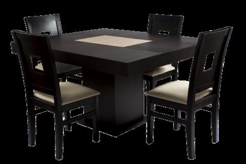 Comedor renlig minimalista chocolate 4 sillas home ideas for Comedor moderno minimalista