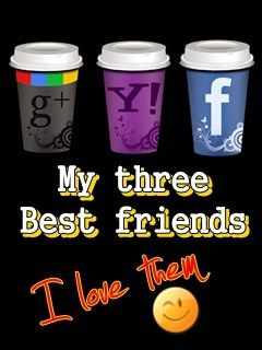 Download Three Best Friends Mobile Wallpaper