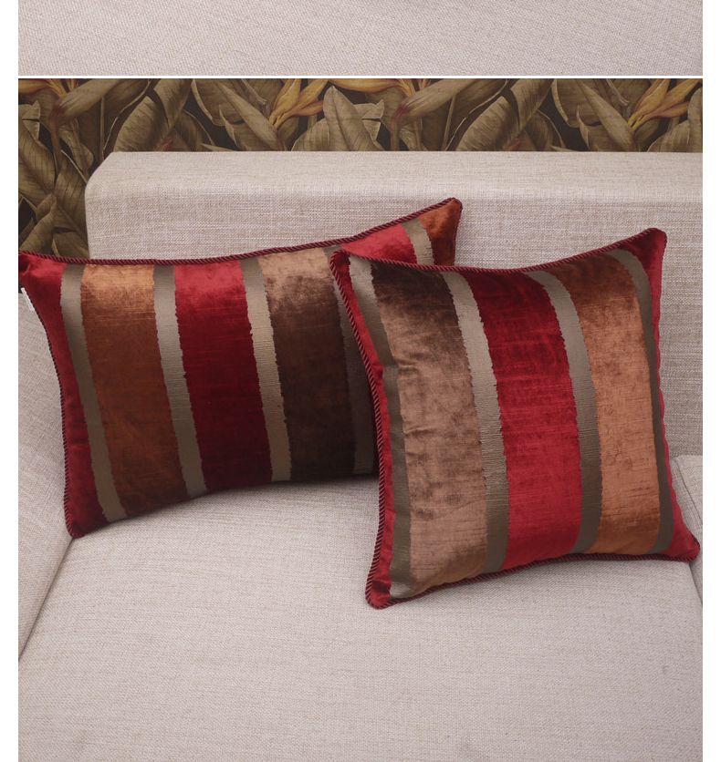 Cuscini Fashion.Pillow Cover Almofada Almofadas Decorativas Elegant Stripe Fashion