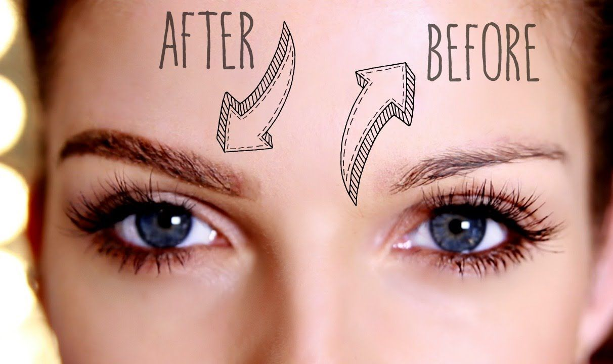 Fast and very easy way of how to fill in your brows. This ...
