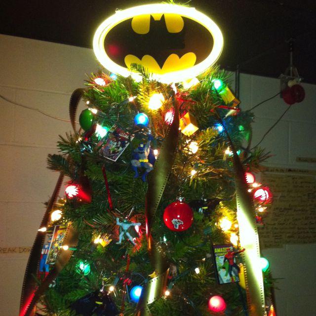 Batman Christmas tree! | BATMAN ~ This is for You, Travis ...