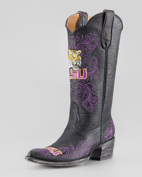 Gameday Boot Company - LSU Tall Gameday Boots, Black