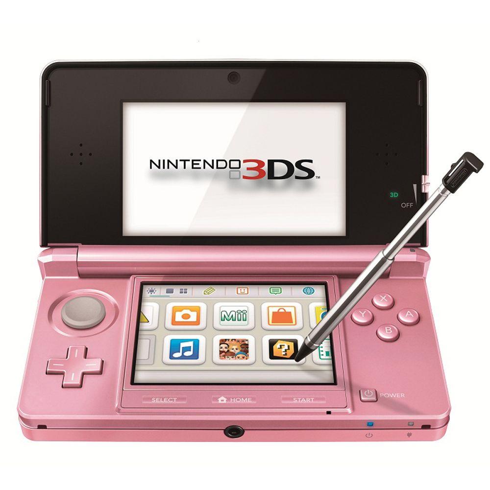 Consola Nintendo 3ds Rosa 990 00 En Walmart Com Mx Walmart Com Mx Consolas Videojuegos Nintendo 3ds Consola Nintendo