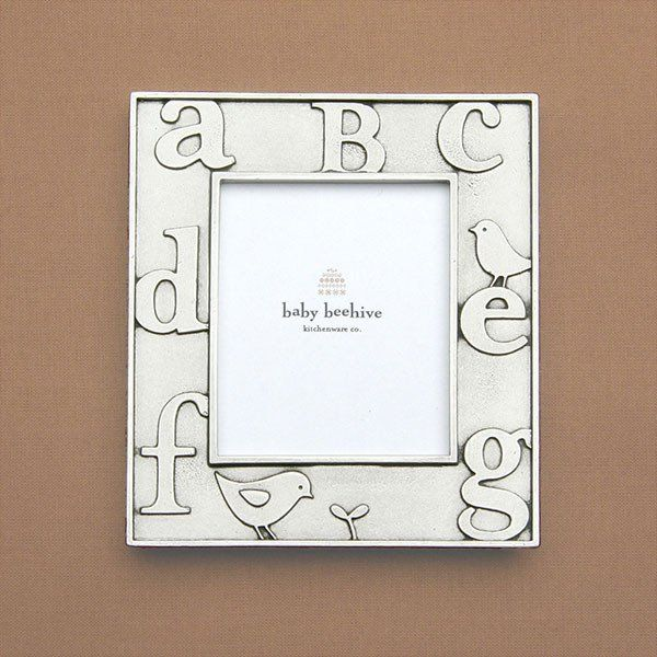 Abc Picture Frame Baby Frame Nursery And Babies