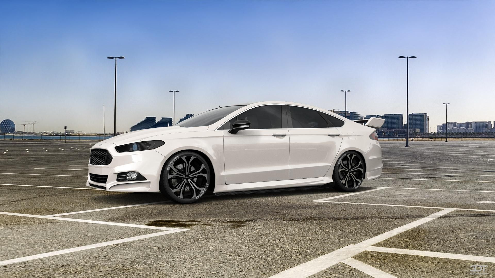 Too Much Loder1899 Gives New Ford Mondeo 22 Inch Wheels Carscoops Ford Mondeo Ford Hatchback