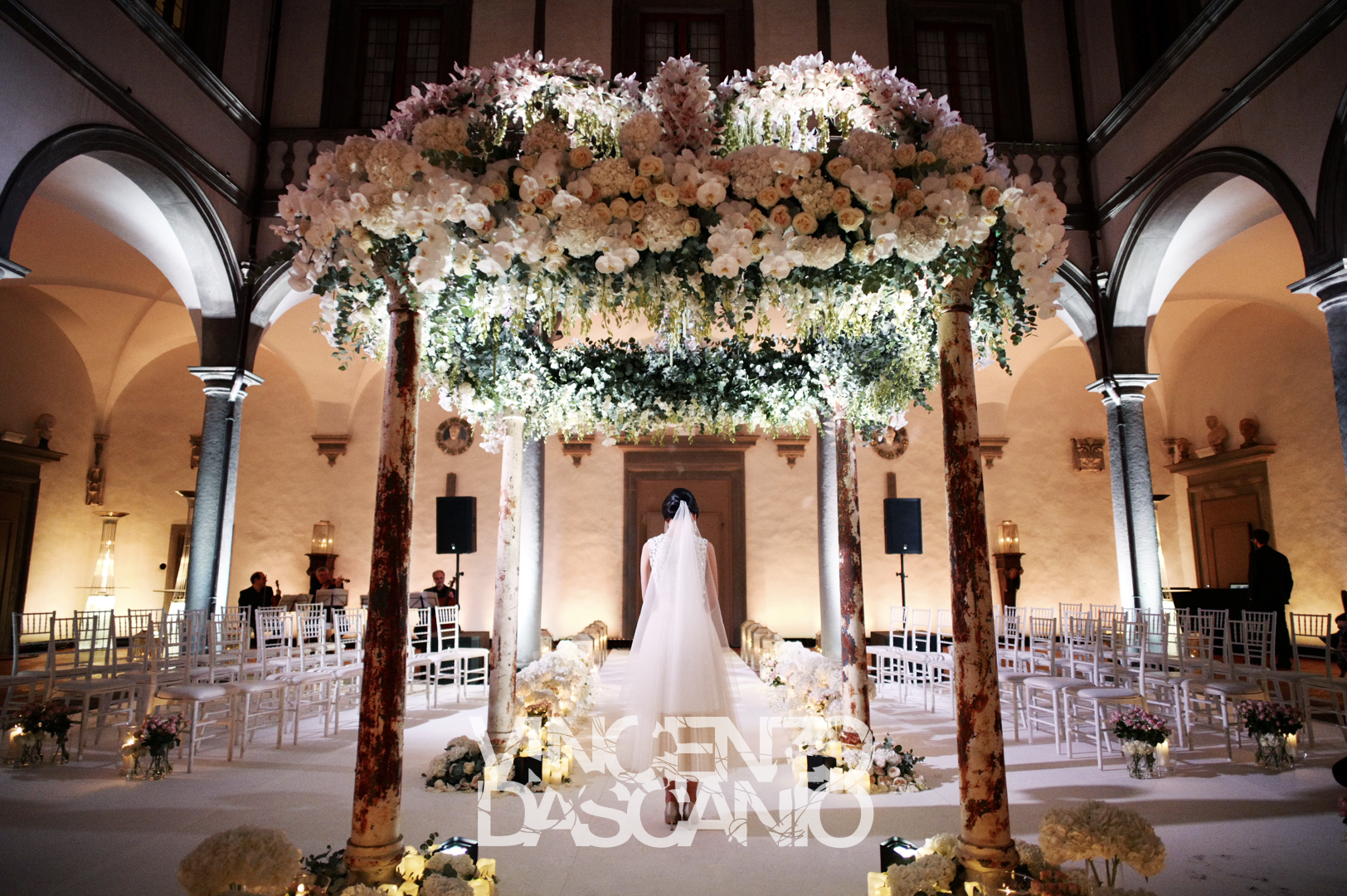 Wedding gate and stage decoration  Organic pink chuppah for ceremony decoration weddingceremony