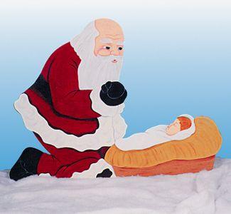 Santa Baby Jesus Woodcraft Pattern Christmas Yard Pinterest