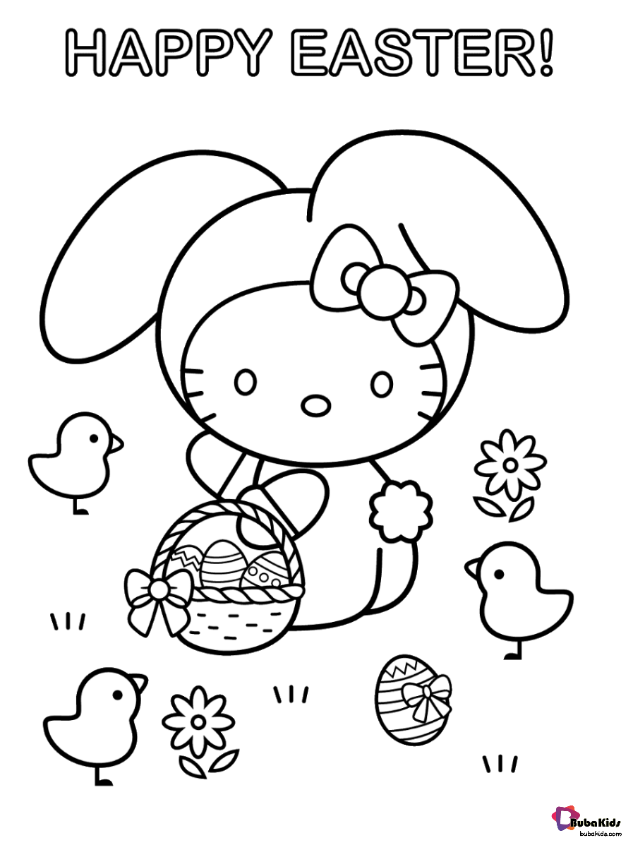 Hello Kitty Happy Easter Coloring Pages Collection Of Hello Kitty Coloring Pages Easter Coloring Pages Printable Birthday Coloring Pages Easter Coloring Pages