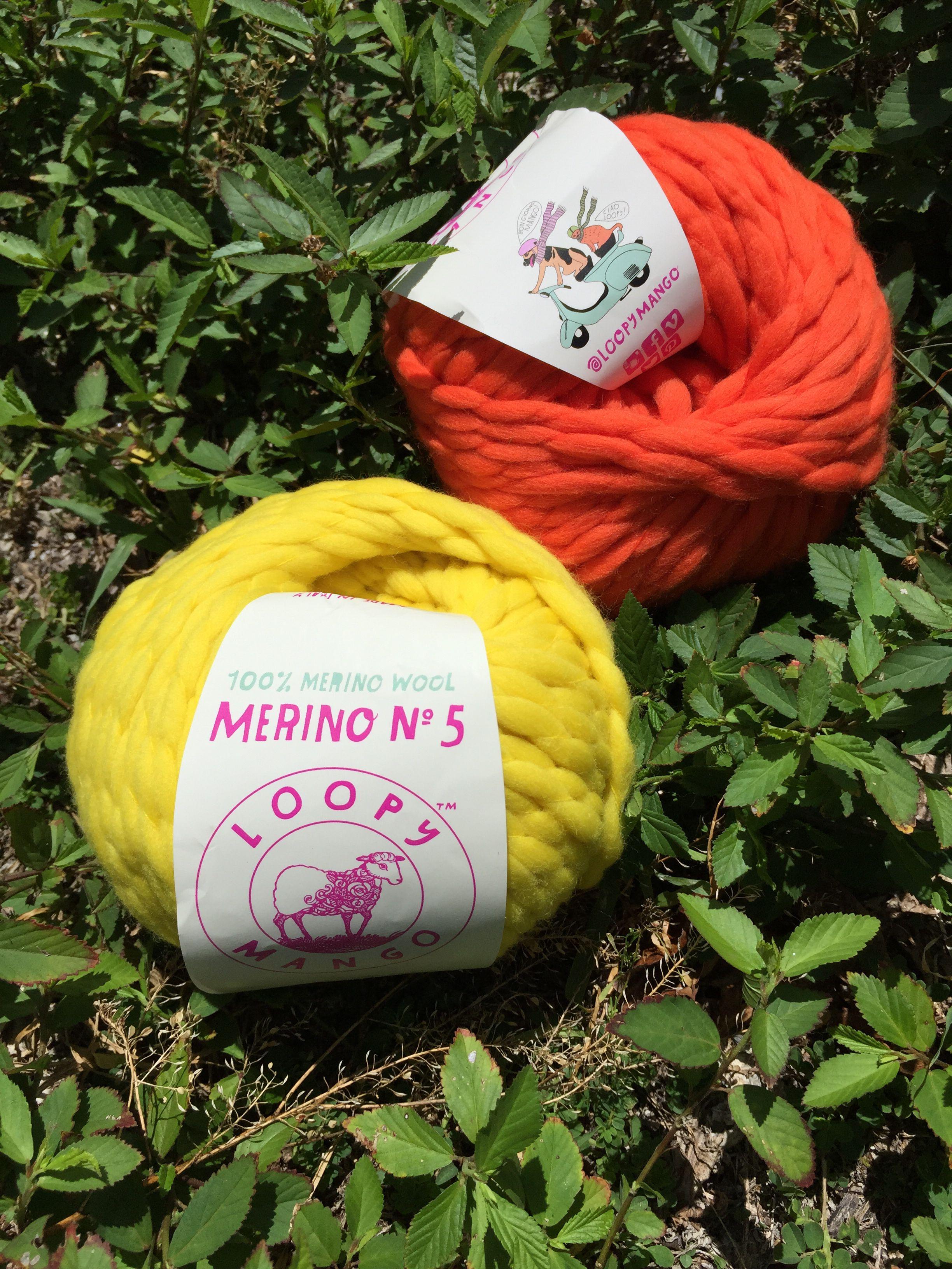 New yarn - Loopy Mango Merino No  5 - perfect for those