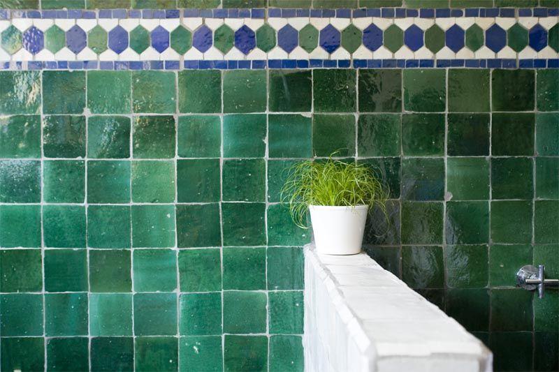 Piastrelle marocchine artigianali mosaici rivestimento cucine