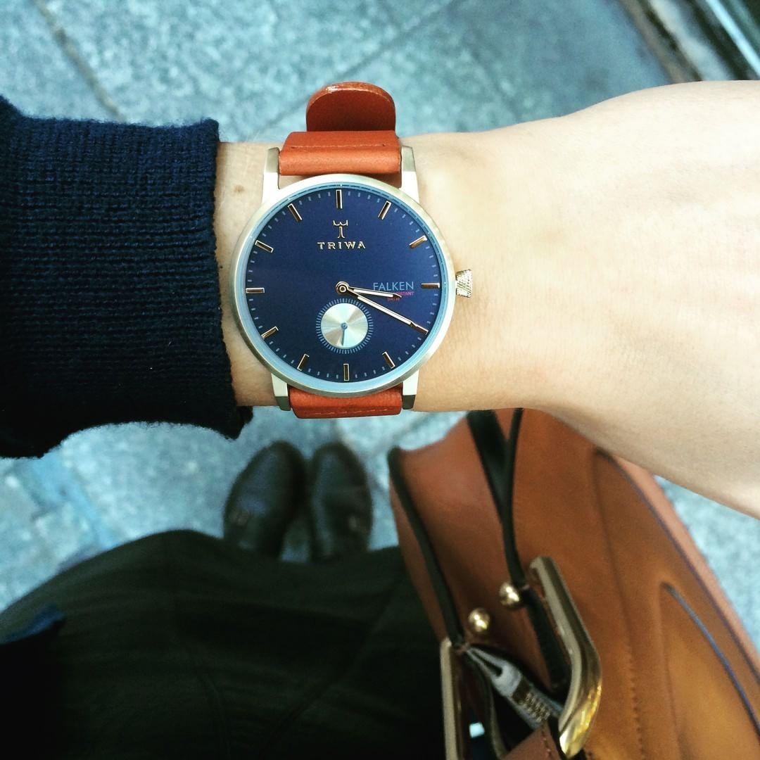 Last model   Triwa The Loch Falken. Swedish fineness et elegance !   chezmaman  triwa  watch  montre  detail  ootd 4f4864ade1b34