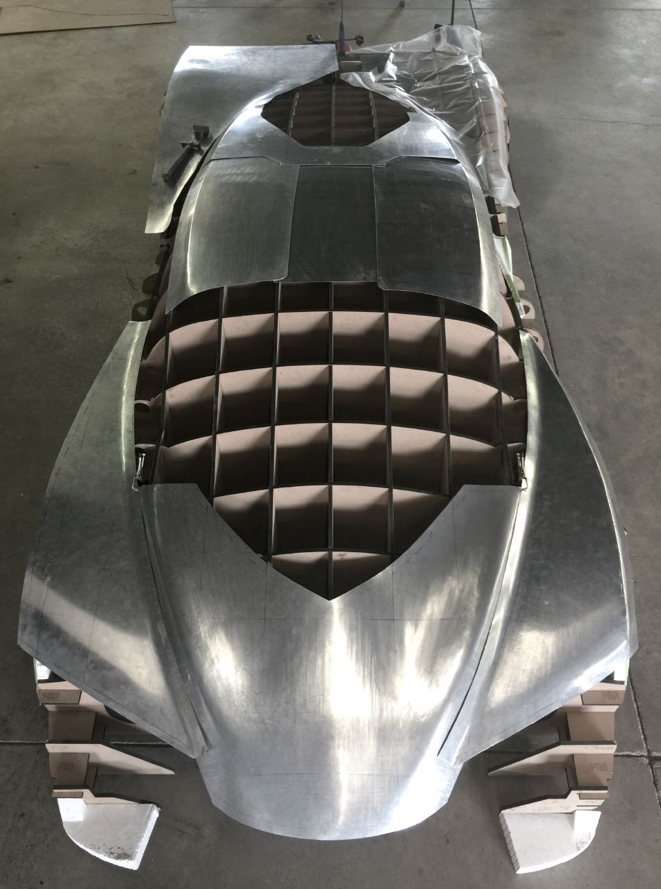 Designer Follows Passions And Dreams To Build His Own Supercar Super Cars Custom Metal Fabrication Metal Shaping