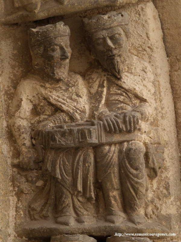 Estella Iglesia De San Miguel Romanico En Navarra A Garcia Omedes Tallado En Piedra Arte Romano San Miguel